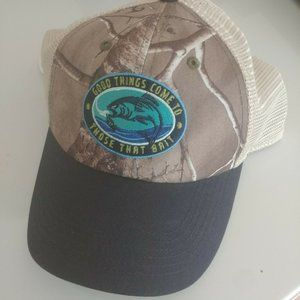 Men's Adjustable Camo Fishing Hat